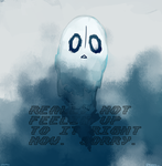 Napstablook by creamuu