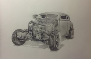Rat rod by G-REDNEK