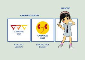 Carnival Logos and Mascot Design by JaysonHuangDraws