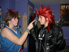 Sora Tells Axel Off... by KellyJane