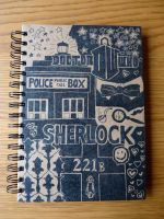 Wholock Notebook - front by Amy221B