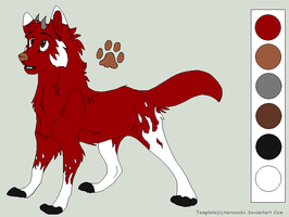 Brother of Shadowflame by BlackWolf1112-ADOPTS