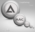 Laplaing Icon For Aimp 3 by DemchaAV