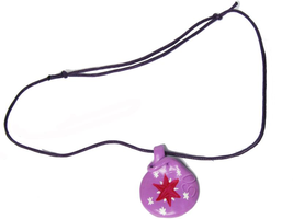 twilight sparkle necklace by SztukaPopelniona
