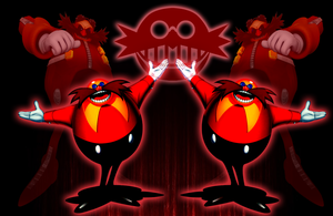 Dr.Eggman Wallpaper by iamthemanwithglasses
