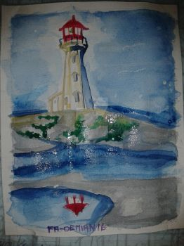 Lighthouse  #1 by FaDemian