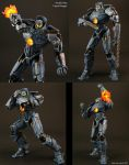 Custom Pacific Rim Gipsy Danger figure by Jin-Saotome