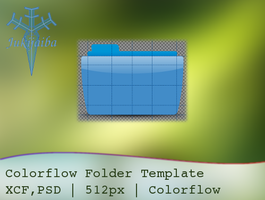 Colorflow Template for Gimp by Yukiyaiba