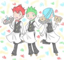 Cilan, Chili, and Cress by mintgold-sky