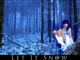 Let it Snow- Wallpaper by WyldAngel