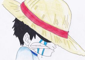 when Luffy became mugiwara by misswalky