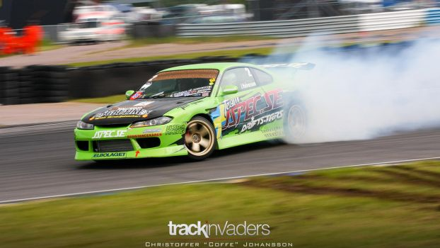 2JZ powered Nissan Silvia S15 drifting by coffe5