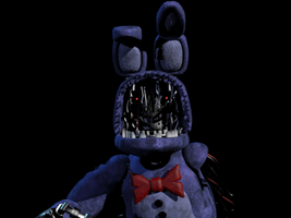 dismantled Bonnie jumpscare by MaxAndTv