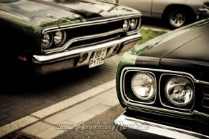 2x  Plymouth by AmericanMuscle