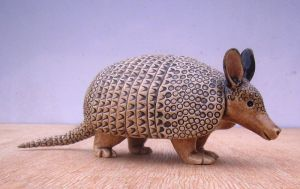 Armadillo by Hippopottermiss