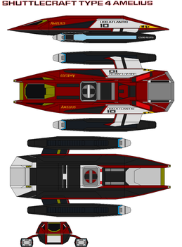 shuttlecraft type 4 Amelius by bagera3005