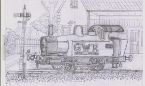 GWR Holden tank sketch by YanamationPictures