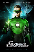 The Green Lantern Movie Poster by hyzak
