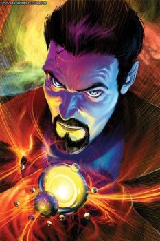 Doctor Strange Issue 5 Cover by BrandonPeterson