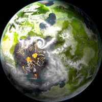 Earth-like Planet by Mick-F18