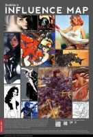 Influence Map by Scebiqu