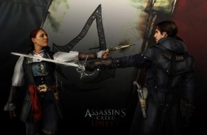ACU - Elise Vs. Arno cosplay by RBF-productions-NL