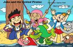 Jake and the Tickled Pirates by Malort75