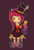 *CLOSED* Adoptable 04 - Scarecrow Girl by ghostpuff