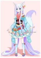 Custom Commission for Mochine-Chan by Hey-Xander