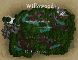 Willowood Map by imcaramel