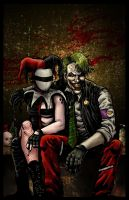 Joker and Harley by RamonVillalobos