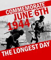 D-Day Commemorative Poster by Party9999999