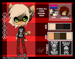 Jordan The Yorkie Reference by LittleChewrrie