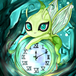 Celebi : Voice of the Forest by Kikifoo