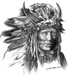 Indian Chief by Xagamus