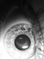 Eye,black and white by Labella-want