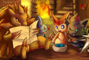 Pokemon Cafe by Deruuyo