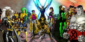 Jim Lee's X-Men by DrewEiden
