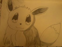Another EEVEE Drawing by pokemonrockstar