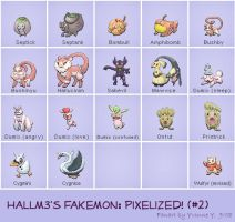 Hallm3's Fakemon-Set 2 by princess-phoenix