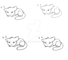 Baby Fox Adopt Bases P2U 10 Points by SquidPup