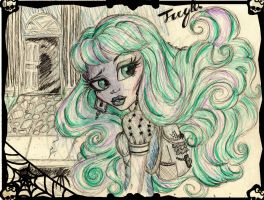 Coming home sketch twyla by ArtisianRomeo