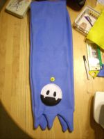 Jack Frost scarf wip by scribbits