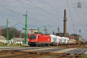 1116 254 with freight in Gyor by morpheus880223