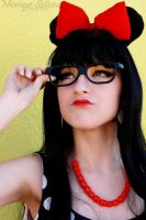 Hipster Minnie Mouse by babybubble2346
