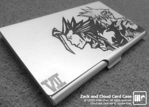 Zack and Cloud Card Case by Autocons