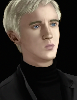 Draco Malfoy (Paintable.com exercise) by Nathair23