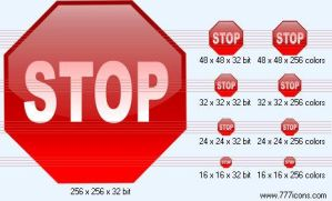 Stop Icon by jpeger