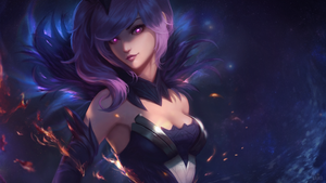 Dark Elementalist Lux Wallpaper by raikoart