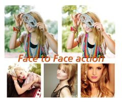 Face to Face Action by makemefeelinlove